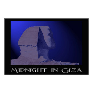 Midnight in Giza Poster