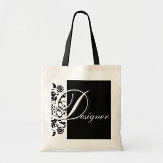 Midnight in Paris   Designer Tote Bag
