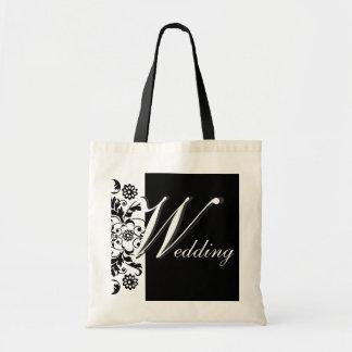Midnight in Paris   Wedding Tote Bag