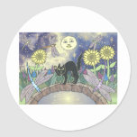 Midnight in the Garden of Dragonflies Stickers
