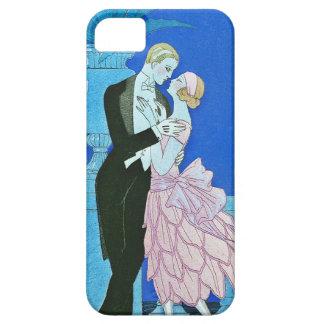 Midnight Kiss Art Deco iPhone 5 Case