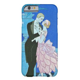 Midnight Kiss Art Deco iPhone 6 case
