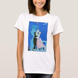 Midnight Kiss Art Deco T-shirt