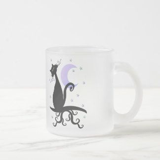 Midnight Kitty Mugs