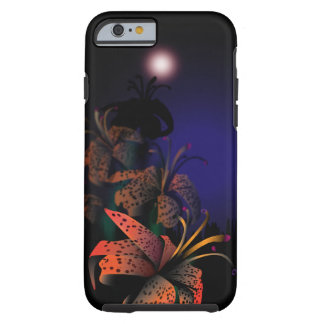 Midnight Lilies iphone 6 case