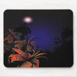 Midnight Lillies mousepad