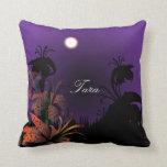 Midnight Lillies Pillow