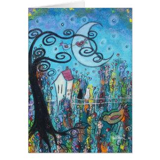 Midnight Love Greeting Card