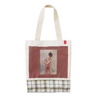 Midnight Lullaby Zazzle HEART Tote Bag