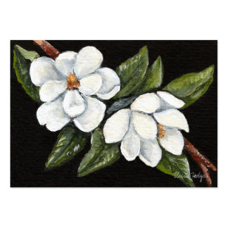 Midnight Magnolias Artist Trading Cards Business Card Templates