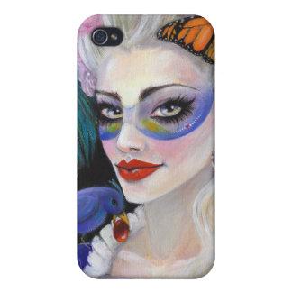 Midnight Masquerade Fairy iPhone 4 Cover