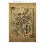 """Midnight Masquerade"" (Halloween Poem) Cards"