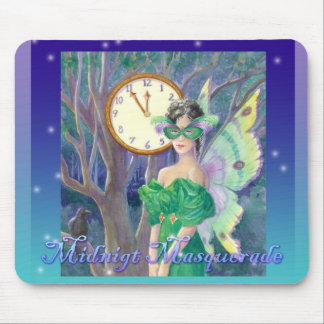 Midnight Masquerade Mouse Pad