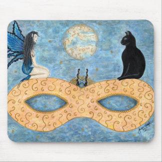 Midnight Masquerade - Mousepad