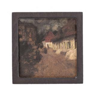 Midnight Mass by Frits Thaulow Keepsake Box