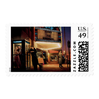 Midnight Matinee Postage Stamps