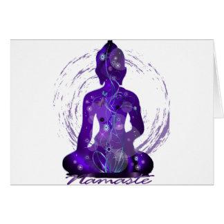 Midnight Meditation Greeting Cards