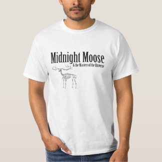 Midnight Moose Skeleton T-shirt