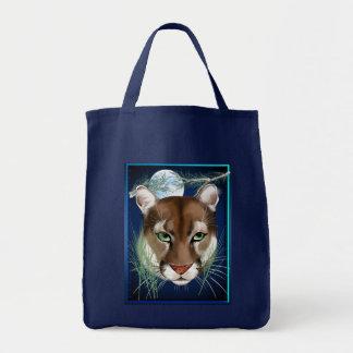 Midnight Mountain Lion Bag