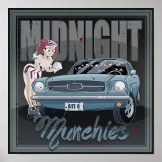 Midnight Munchies Poster