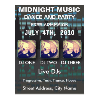 Midnight Music Flyer