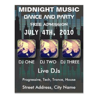 Midnight Music Flyer