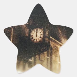 Midnight on Hogmanay Star Sticker
