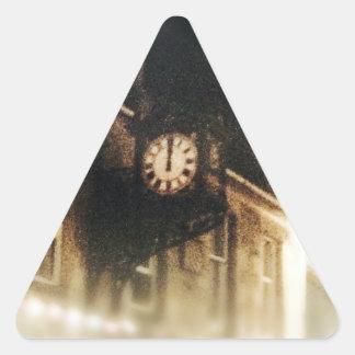 Midnight on Hogmanay Triangle Sticker