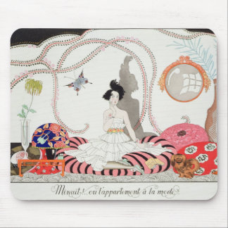 Midnight! or The Fashionable Apartment, 1920 (poch Mouse Pad