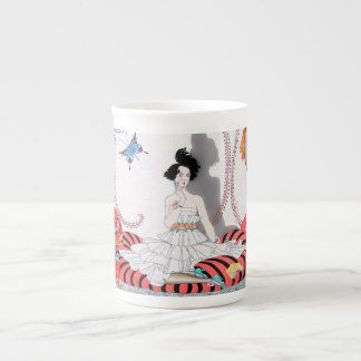 Midnight! or the Fashionable Apartment Tea Cup