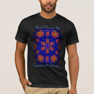 Midnight Orchid Pattern T-Shirt