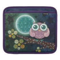 Midnight Owl iPad Sleeve