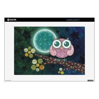 Midnight Owl Laptop Skin