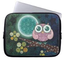 Midnight Owl Laptop Sleeve