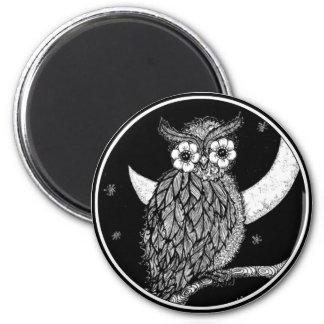Midnight Owl Magnet