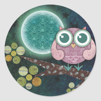 Midnight Owl Stickers