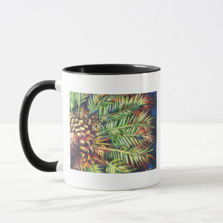 MIDNIGHT PALM TREE MUG