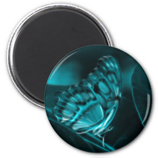 Midnight Passion, Blue Butterfly Kisses Magnet