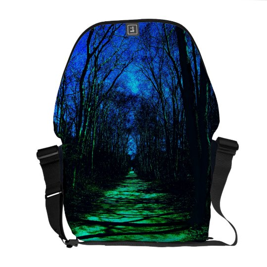 Midnight Path Messenger Bag