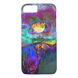 Midnight  Poppy iPhone 7 Case