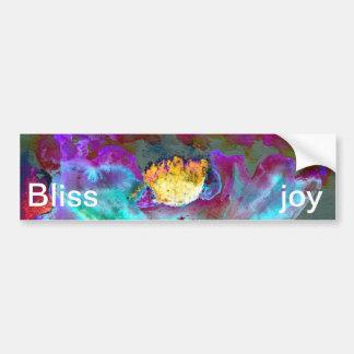 Midnight Purple Poppy Bumper Sticker