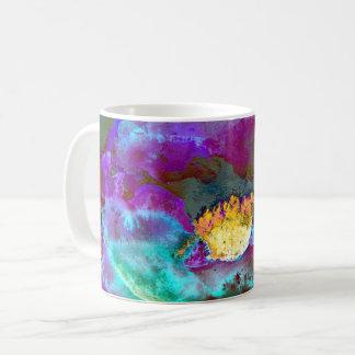 Midnight Purple Poppy Coffee Mug