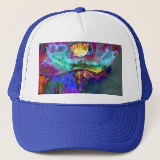 Midnight Purple Poppy Trucker Hat