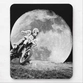 Midnight Racer Mouse Pad