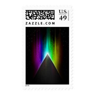 Midnight Rain Postage Stamps