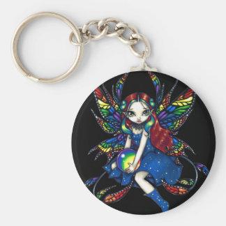 """""""Midnight Rainbow"""" Keychain"""