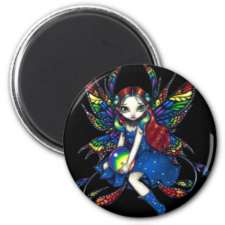 """Midnight Rainbow"" Magnet"