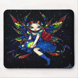 """Midnight Rainbow"" Mousepad"