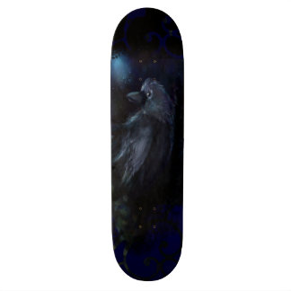 Midnight Raven Customized Skateboarding Deck
