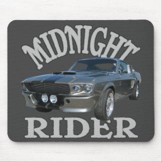 Midnight Rider Mouse Pad